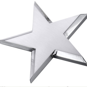 Spinning star award/paperweight