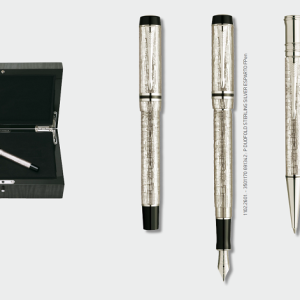 Parker Duofold Sterling Silver esparto